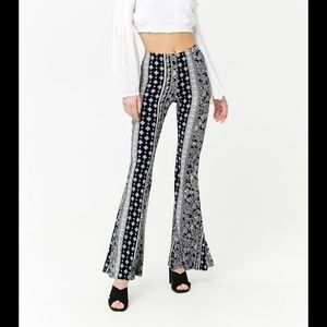 High waisted bell bottom pants/bottoms